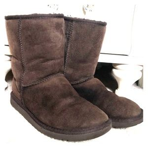 Women's Chocolate Brown Short Uggs Original